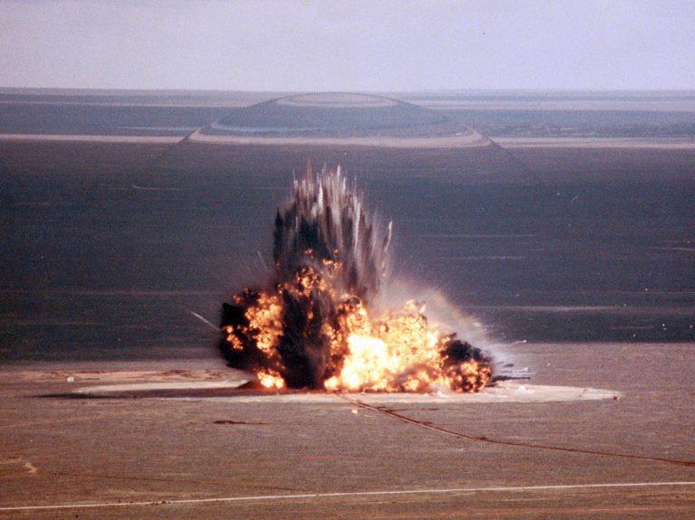 Explosive Ordnance Storage Buildings