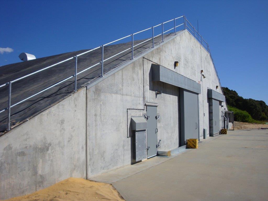 Spantech 23m Explosive Storehouse