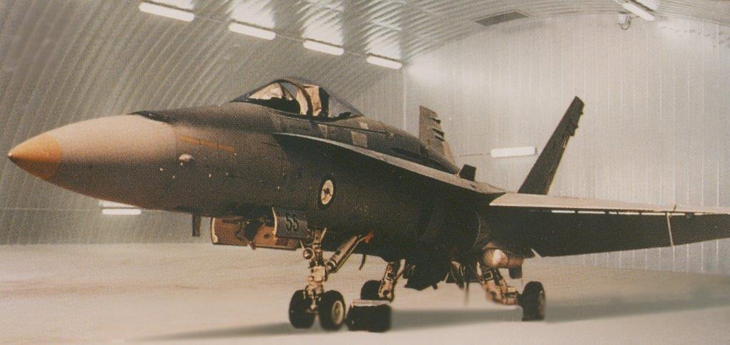 Spantech hardened aircraft hangars