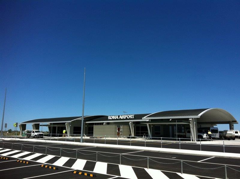 Roma Airport Construction