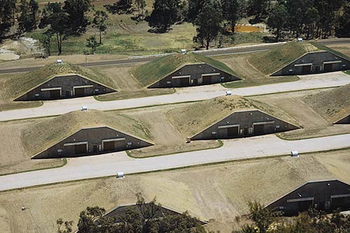 Earth Covered Buildings for Defence