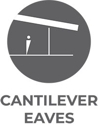 Cantilever Eaves