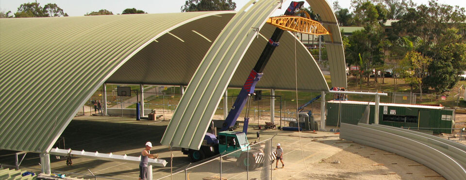 Wide Span Roofing Construction004