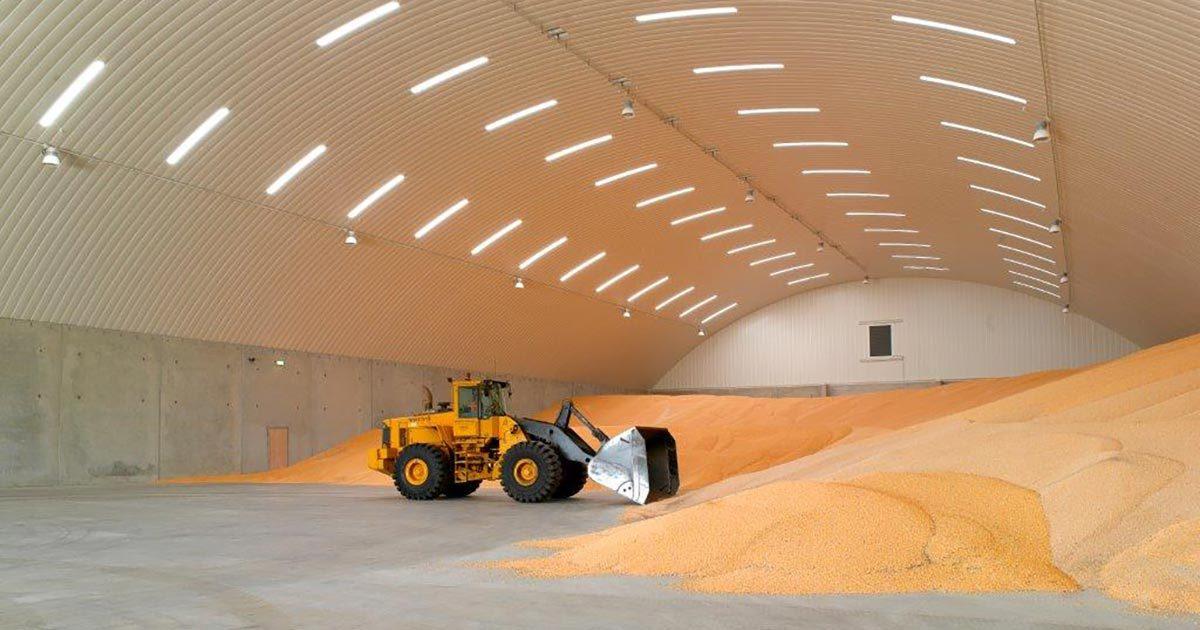 Agricultural Grain Storage Buildings