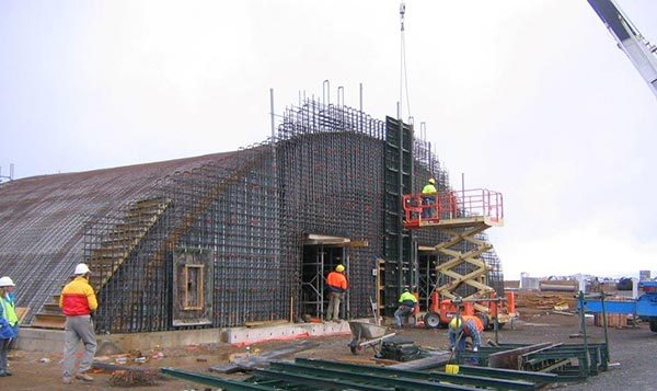 Earth Covered Building Construction