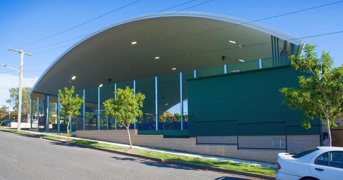 Padua College Sports Shade Area