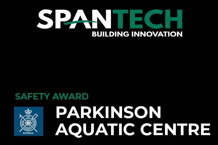Safety-Award-Parkinson-Aquatic-Centre
