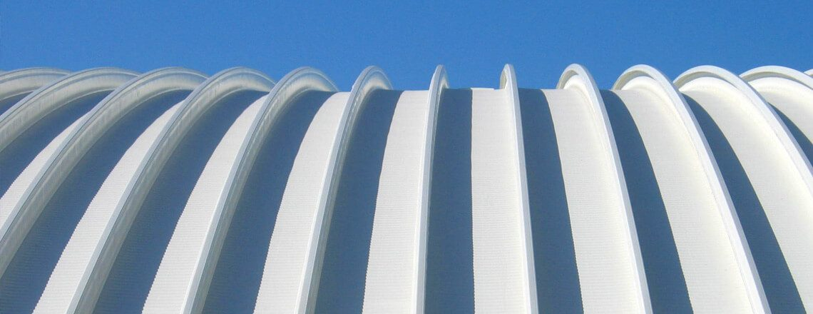Wide Span Curved Roof