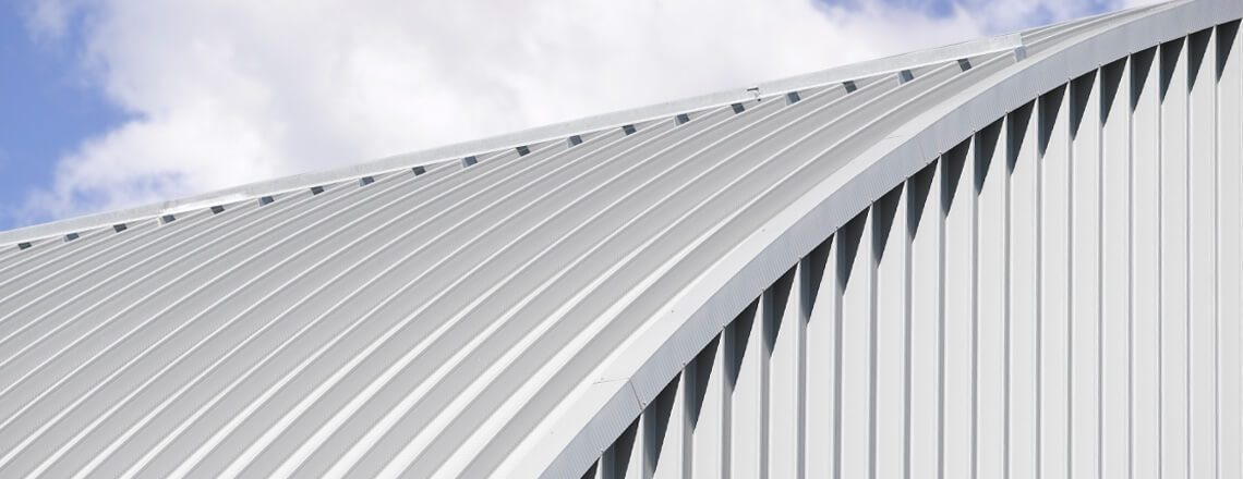 Wide Span Curved Roofing